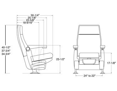 Booth Seating Premium Rocker Custom Theater Home